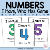 Numbers I Have Who Has Card Game