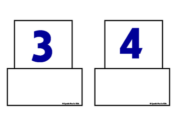 Numbers-Interactive Flash Cards-Spanish