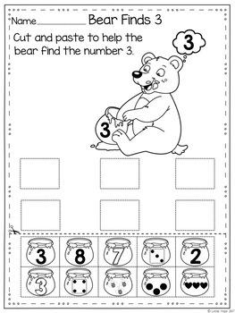 Numbers Interactive Game (PreSchool & Kinder)