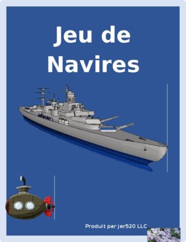 Numbers and Alphabet in French Bataille navale Battleship game