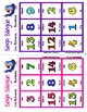 Numbers - Los números - Bingo Bilingüe - Bilingual bingo
