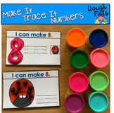 Numbers Make It Trace It Fine Motor Activities