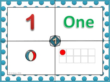 Numbers 0 to 20 - Matching and Counting Activity