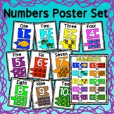 Numbers Math Poster Set - Classroom Decor