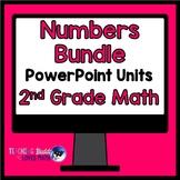 Numbers Math Unit Bundle 2nd Grade Common Core