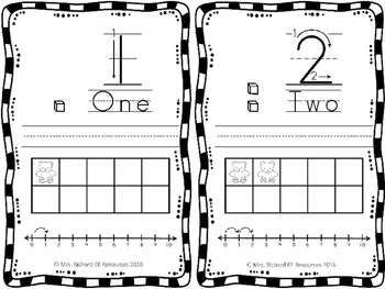 Numbers Mats 1-5
