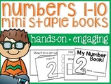 Numbers Mini Staple Books