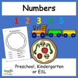Numbers Mini Unit