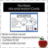 Numbers Mix and Match Cards