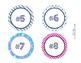 Numbers Nautical Theme