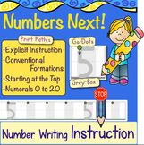 NUMBER WRITING: Explicit Instruction