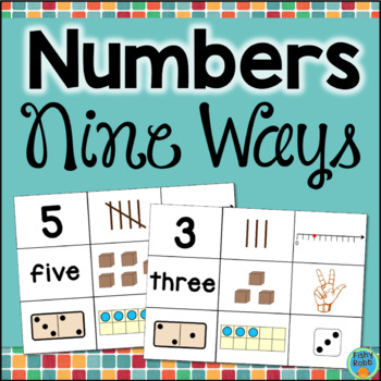 Numbers 1 to 10 Sorting and Matching Cards