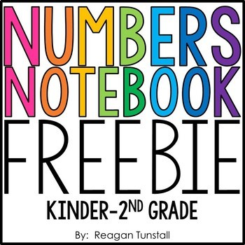 Numbers Notebook Freebie