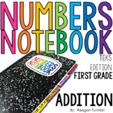TEKS Numbers Notebook First Grade Addition