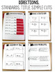 Common Core Numbers Notebook First Grade BUNDLE