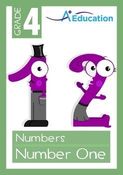 Numbers - Number One / Classroom Helper - Grade 4
