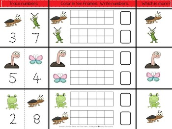 Numbers, Number Sense and Place Value for Kindergarten: Common Core