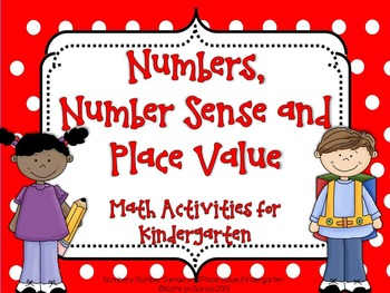 Numbers, Number Sense and Place Value for Kindergarten: Co