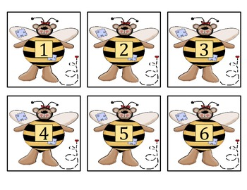 Numbers & Number Words - Bumbly-Bear Learns Numbers & Number Words