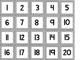 Numbers/Number Words Matching