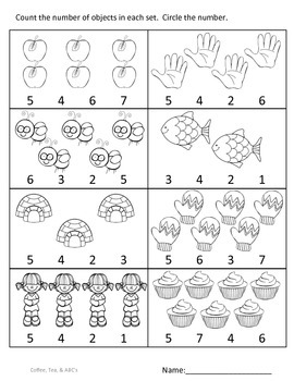 Numbers..Numbers / Counting and Cardinality