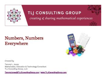 Numbers Numbers Everywhere