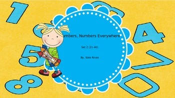 Numbers, Numbers Everywhere! set 2 (#21-40)