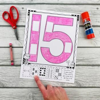 Numbers, Numbers, Numbers! Cut & Paste Number Recogniton Printables 11-20