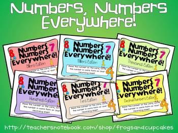 Numbers, Numbers Pack