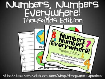 Numbers, Numbers--Thous.