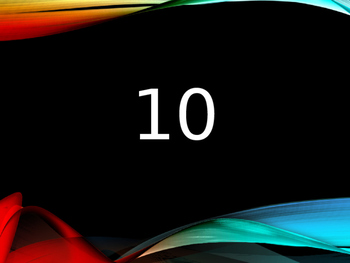 Numbers  Numeros 10 by 10 up to 100