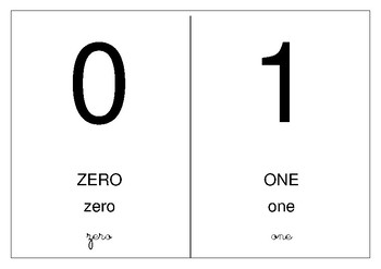 Numbers / Numéros English - French (Dual Language) (Bilingual)