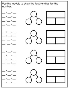 Numbers: One Page Foldables