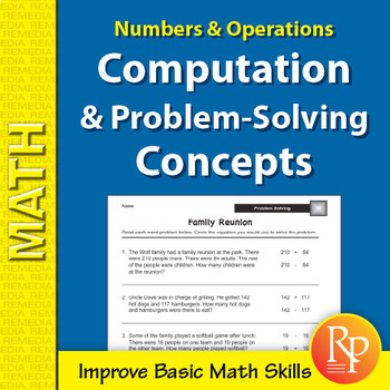 Numbers & Operations: Computation & Problem-Solving Concepts