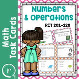 NWEA MAP Prep Math Operations RIT Band 201-220 Interventions