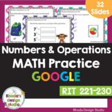 Numbers & Operations RIT Band 221-230 Google Classroom Dis