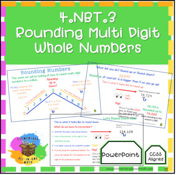 Numbers & Operations in Base Ten - 4.NBT PowerPoints Bundle