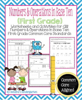 Numbers & Operations in Base Ten Worksheets/Activities - F