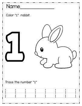 Numbers Pack 1-5