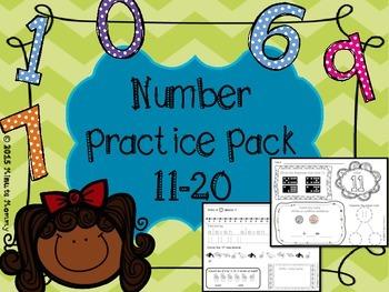 Numbers Pack 11-20