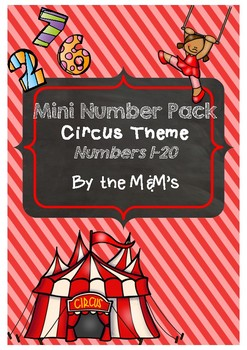 Numbers Pack Circus Theme