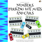 Numbers Parking Lot Mats and Cars