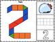 Numbers Pattern Block Mats 0-20