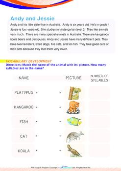 Numbers - Pets - Grade 1