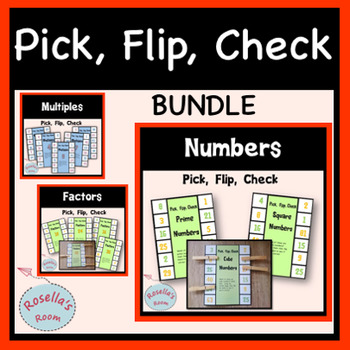 Numbers Pick Flip Check Bundle