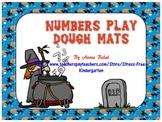 Numbers Play Dough Mats, Halloween Theme
