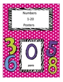 Numbers Poster 1-20