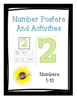 Numbers Poster and Sort