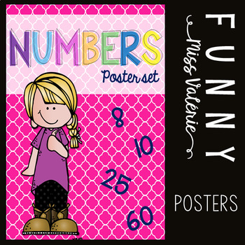 Numbers - Poster Set