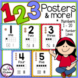 Numbers Posters and More - Polka Dots